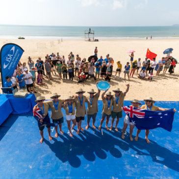 И вновь победу одержала  команда Австралии