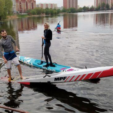 Первый в истории региона — чемпионат Московской области по сапсёрфингу